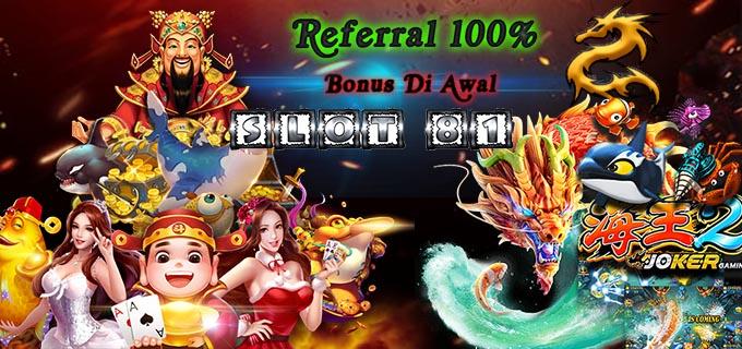 Bonus Referral 100%